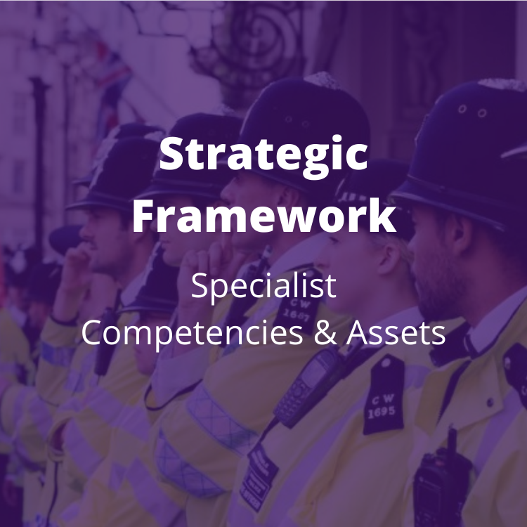Multi-supplier framework to enable forces to buy systems that support managing police competencies and police assets, and delivering several non-functional requirements. BENEFITS: Off the Shelf and modified categories available; direct award or mini-competition; collaborative approach to reduce cost and resources.