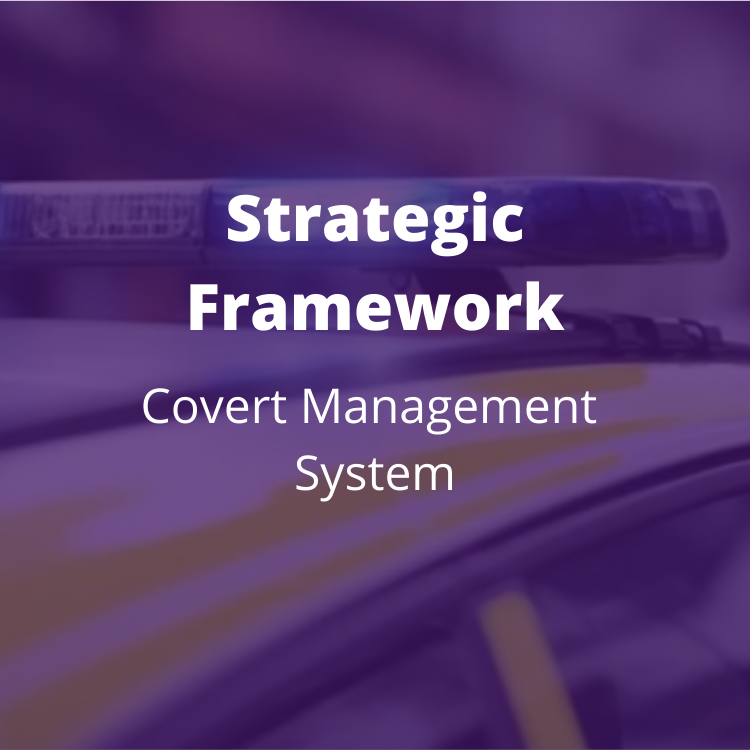Multi-supplier framework compromising seven modules for bespoke covert works. BENEFITS: Direct award or mini-competition; discounts for purchasing multiple modules and when purchasing regionally or multi-force.