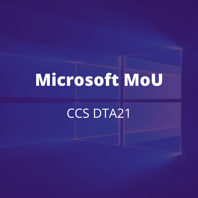 MoU with Microsoft to enable public sector organisations to continue to achieve better value for money. BENEFITS: Will allow all eligible public sector customers to benefit from the same baseline of Microsoft pricing and discounts. Preferential commercial terms.